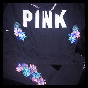 Victoria Secret PINK HTF Floral Set